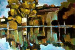 2012 - 70x65 Paesaggio lombardo